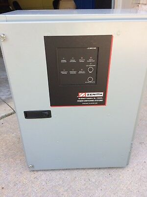 TRANSFER SWITCH GE ZENITH - 100 Amp - 120/240V - SINGLE PHASE
