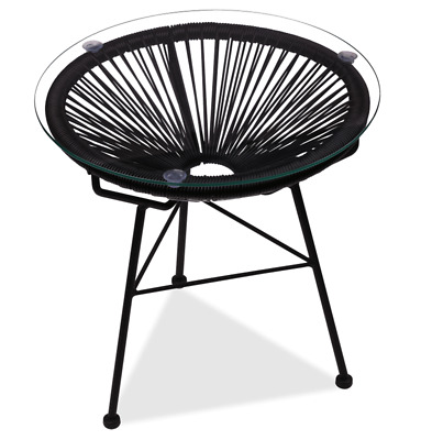 GFURN Reproduction of Acapulco Side Table Modern Outdoor