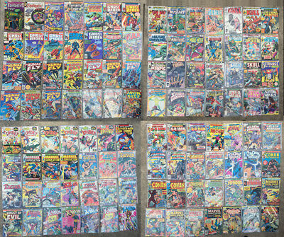 Marvel Comics -- Huge Mixed Lot of 112 -- Mostly 1970s