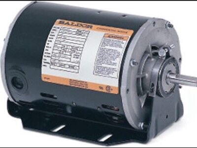 Electric Motor, Baldor .33HP, 1725RPM, 230V, 1PH