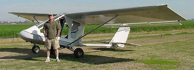 Experimental 2 place ultralight'esgue airplane- reassemble and fly!