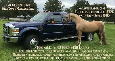 2008 Ford F-450 Lariat Gorgeous 2008 FORD F450 LARIAT - Loaded with extras!