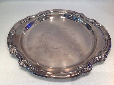 Vintage Viners Siver Plated Tray.