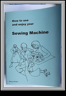 Models VX710 & VX730 Jones Brother  sewing machine instruction Manual Booklet