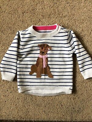 Baby Girls Joules Jumper 3-6 Months