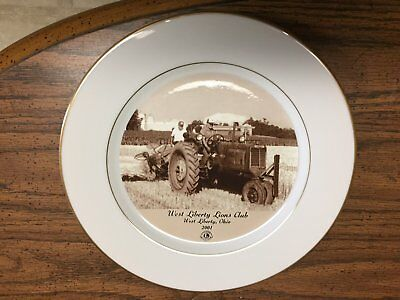 Oliver Tractor Plate West Liberty Ohio Lions Club Steam Thresher 2001 Farm