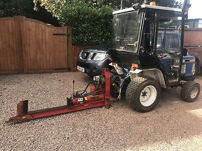 Wessex Pto Log Splitter Compact Tractor Farm Small Holding Landscaping Garden