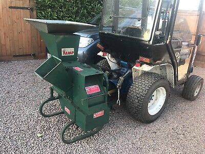 Kemp Wood Chipper Mulching Compact Tractor Farm Small Holding Landscaping Garden