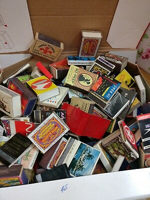 Job Lot Old Used Matchbooks / Match Boxes