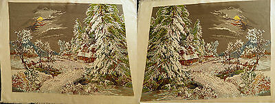 Gobelin Hand Made Tapestry Arazzo 37 Winternacht