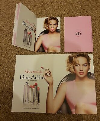 jennifer lawrence poster DIOR