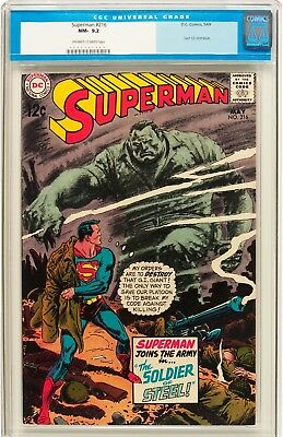 Superman #216 (DC, 1969) CGC NM- 9.2 Off-white to white pages....