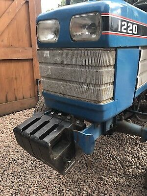 Compact Tractor Front Weights Trailer  Small Holding Landscaping Garden