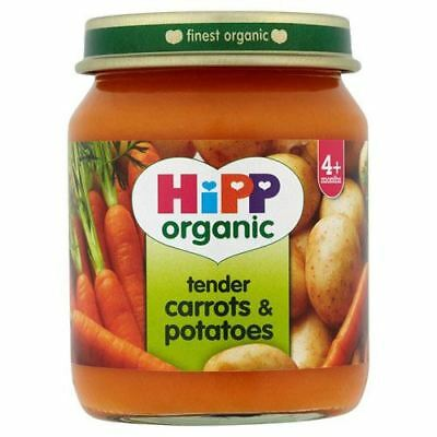 Hipp Tender Carrots & Potatoes (4+) | 125g x 6 | Multipack & Bundles