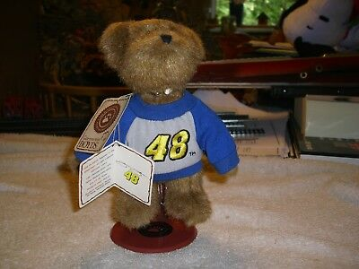 """Boyd's Collectible 6"""" #48 Bear With Stand And Tags"""
