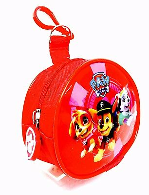 Paw Patrol Unisex Fabric Coin Pouch With Bag & Keyring Attachment Brand New …