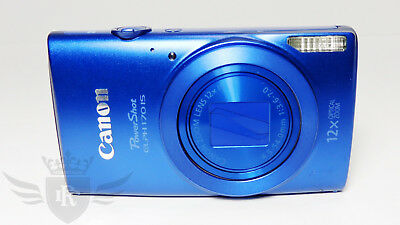 Canon PowerShot ELPH 170 IS, 12x Optical Zoom, 20.0 MP Digital Camera - Blue