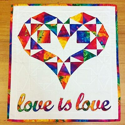 PRIDE quilted Wall Hanging