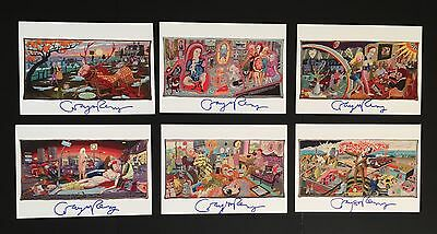 Grayson Perry Vanity Of Small Differences Hand Signed Print Set Very Rare!