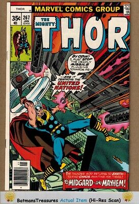 The Mighty Thor #267 (9.0) VF/NM 1978 Bronze Age Key Issue