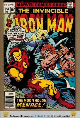 Invincible Iron Man #109 (8.5) VF+ 1st Vanguard Appearance 1978 Key Issue