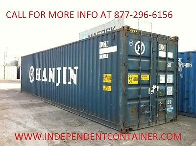 45' HC Cargo Container / Shipping Container / Storage Container in Houston, TX