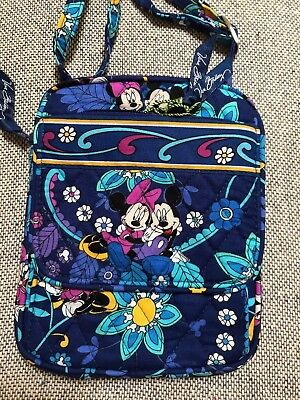 Vera Bradley Disney MINI HIPSTER Crossbody Bag in Disney Dreaming Mickey Minnie