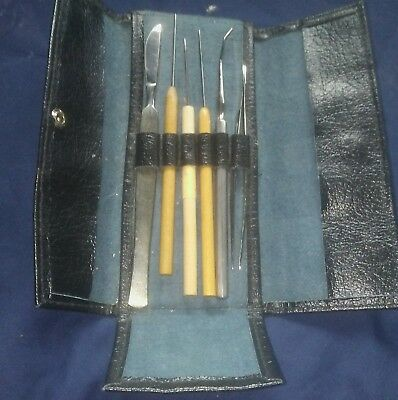 Vintage Indiana University Zoology Disection Kit - excellent condition!