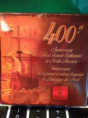 2004 Canadian Proof Coin 400th Anniv. 1st French Settlement N. America, Sealed