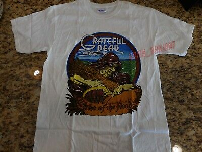 GRATEFUL DEAD VTG T-shirt 1973 WAKE of The FLOOD 70s Jerry Garcia ~ REPRINT