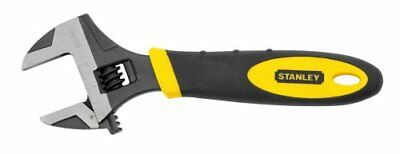 Stanley Wrench 6 Inch Adjustable Crescent Craftsman MaxSteel Laser-etched Scale