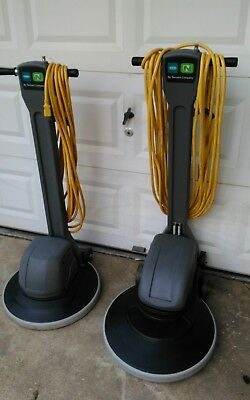 Tennant 20Inch Slow Speed And High Speed Floor Machines (Pair)