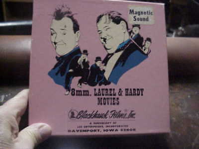 super 8mm film CHUMP AT OXFORD Laurel and Hardy magnetic sound