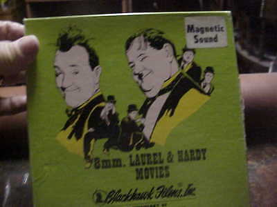 super 8mm film SWISS MISS Laurel and Hardy magnetic sound