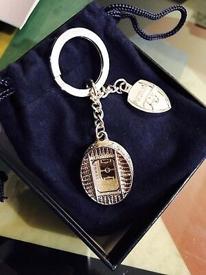 Original Aquascutum Arsenal Keyring-brand new-silver-very Rare