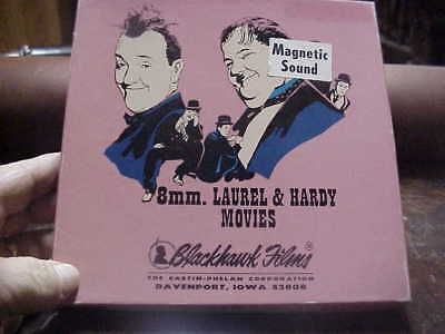 super 8mm film FIXER UPPERS  Laurel and Hardy magnetic sound