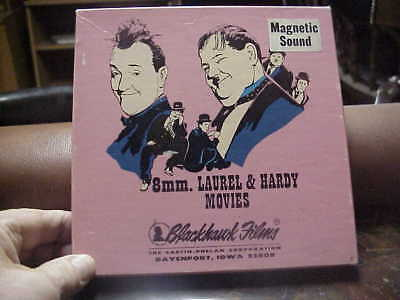 super 8mm film MIDNIGHT PATROL  Laurel and Hardy magnetic sound
