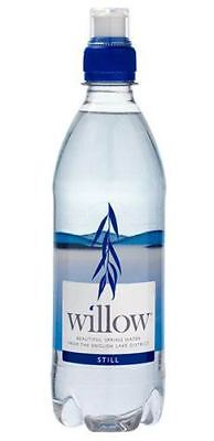 Willow Willow Spring Water - Sports Cap | 500ml x 12 | Multipack & Bundles