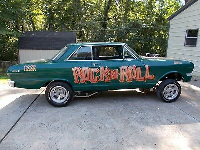 1965 Chevrolet chevy 11 nova  gasser cars and trucks