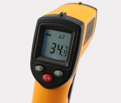 New thermometer gun Non-contact GM320 -50~330°C LCD Infrared laser digital