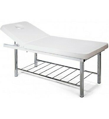 Medical Beauty Massage Bed Waxing Treatment Versatile Spa Threading  W/ SHELVING