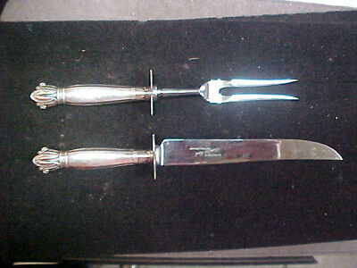 STERLING SILVER CARVing SET WEB CLEAN