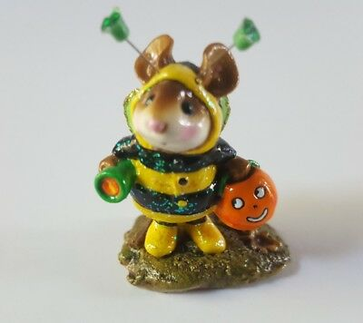 wee forest folk halloween bumble bee