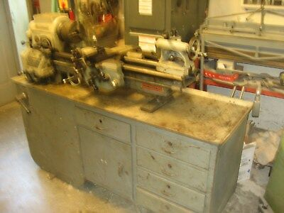 """Rockwell 11"""" Model 25-117 Special Metal Lathe"""