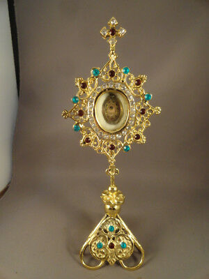 [+] Relic Saint Gabriel of Our Lady of Sorrows,  Jeweled Reliquary
