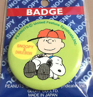 Snoopy & Charlie Brown Badge/pinback Button