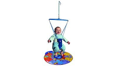 Jolly Jumper Elite Baby Swing with Musical Mat for Pre-Walking Skill Training