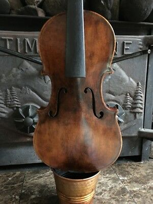 Old Vintage Violin probably Continental Europe or American Made