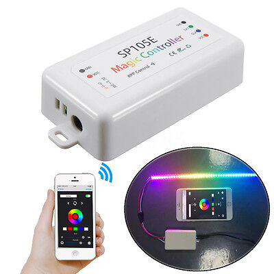 SP105E Magic Controller Bluetooth Pixels for IOS & Android APP ws2812b/ws2811