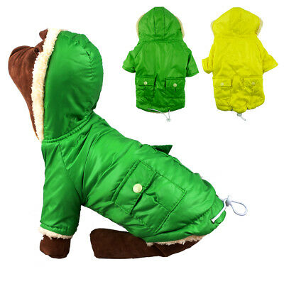 Waterproof Winter Padded Small Dog Clothes Chihuahua Coats Outdoor Jacket Hoodie